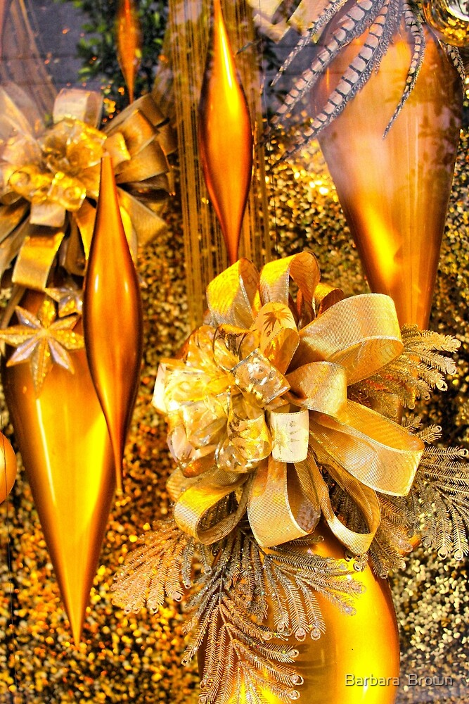 Christmas of Gold by Barbara  Brown