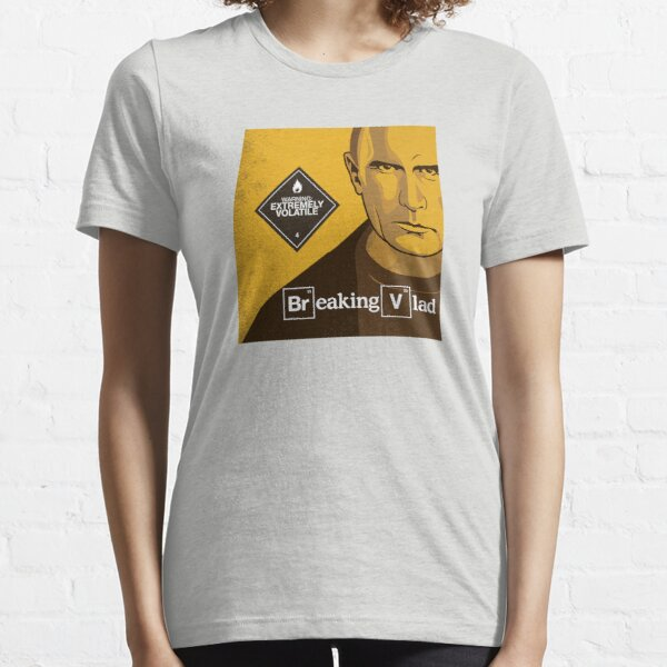 "Vladimir Putin - ""Breaking Vlad"" Essential T-Shirt"