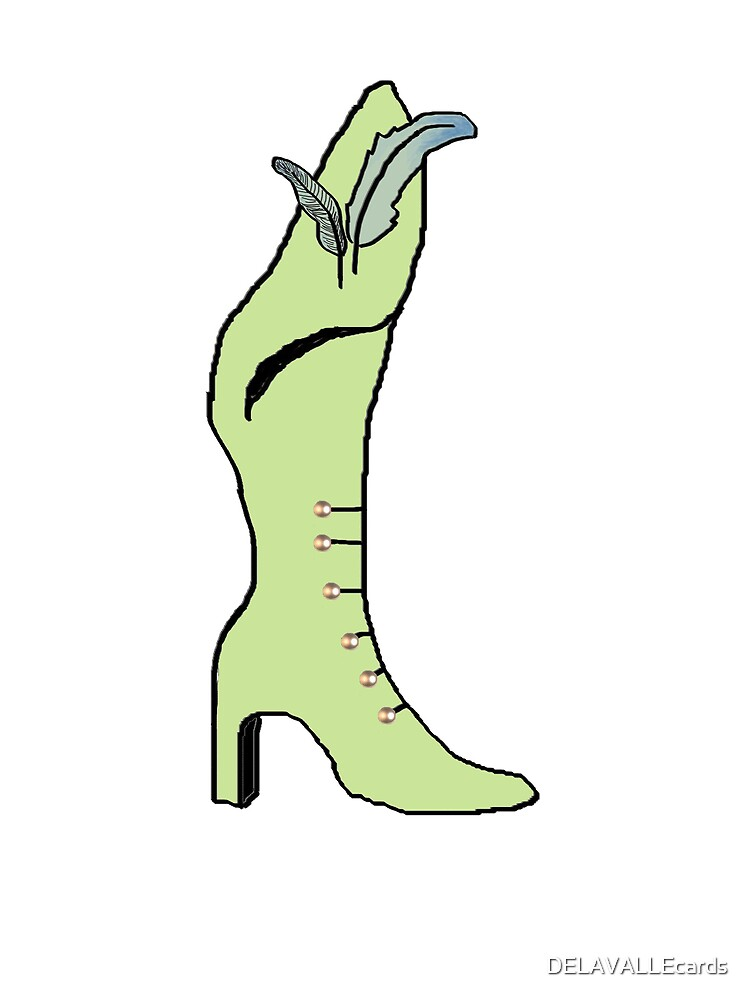 Shoe by DELAVALLEcards
