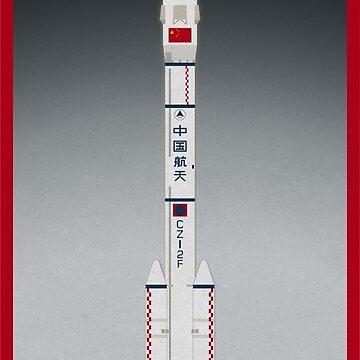 Shenzhou Launch by scbb11Sketch