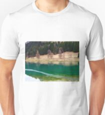 Winter Lake in Chatel T-Shirt