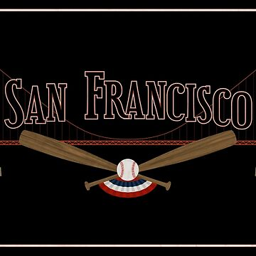 San Francisco Baseball by scbb11Sketch