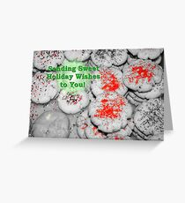 Sweet Holiday Wishes Card Greeting Card