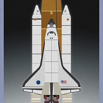 Space Shuttle Launch by scbb11Sketch