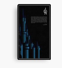 1971 - Magic Kingdom Canvas Print