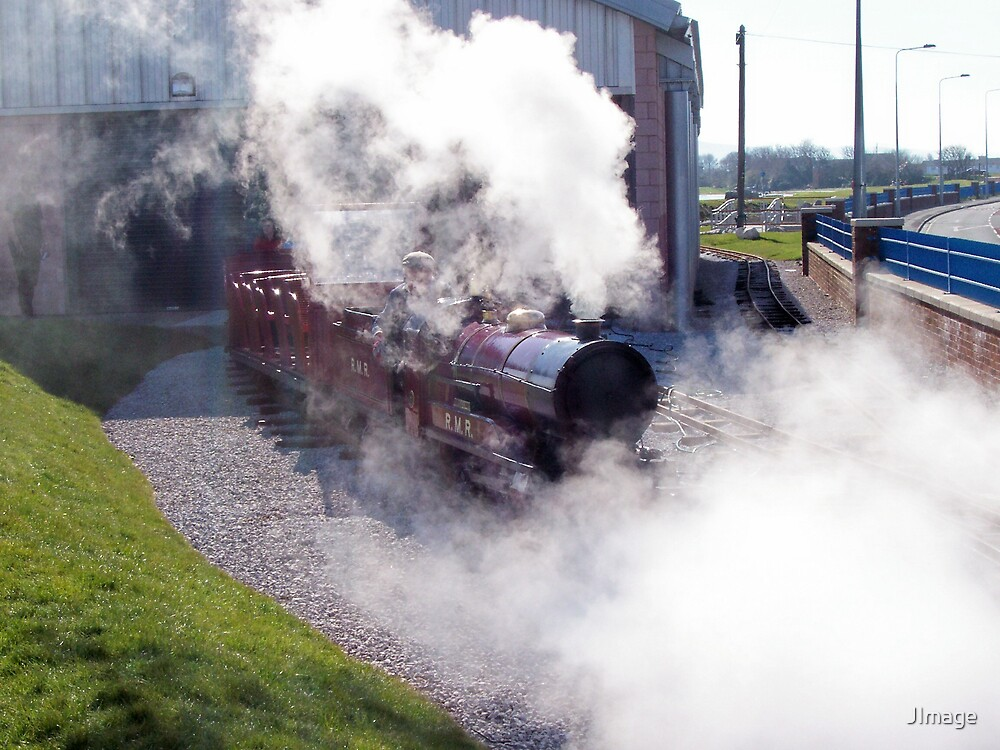Miniature Steam Train by JImage