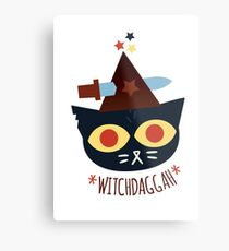 WitchDaggah - Night in the Woods Metal Print