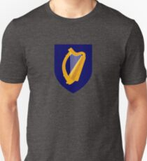 Coat of Arms of Ireland - Irish Emblem Sticker Duvet T-Shirt Unisex T-Shirt