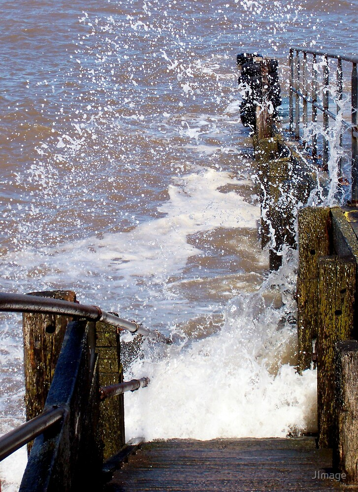 Steps into the Sea by JImage