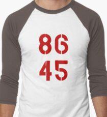 86 45 / Remove Trump Men's Baseball ¾ T-Shirt