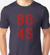 86 45 / Remove Trump T-Shirt