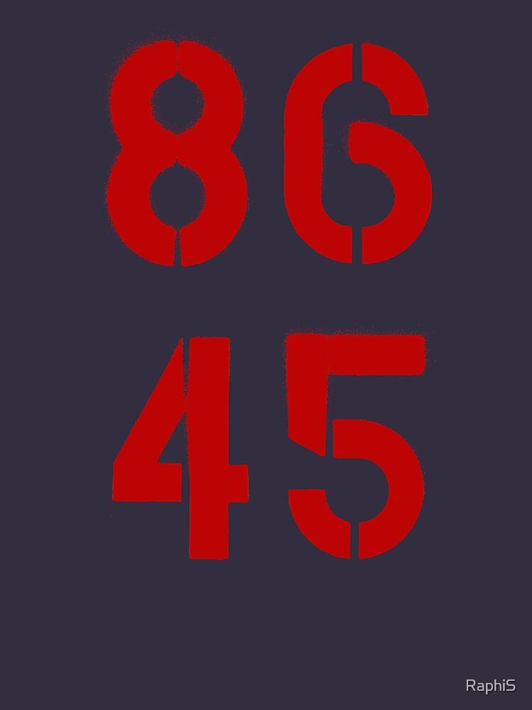 86 45 / Trump entfernen von RaphiS