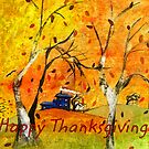 Happy Thanksgiving/Whimsical Wind by Ruth Palmer