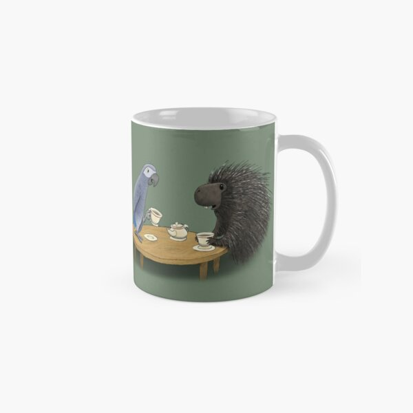 Parrot and Porcupine Share Tea Classic Mug