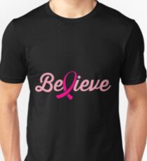 Believe Ribbons- Cancer Shirts T-Shirt