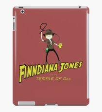 Finndiana Jones and the Temple of Ooo iPad Case/Skin