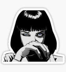 Pulp Fiction Mia Sticker