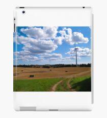 Modern clean alternative energy iPad Case/Skin