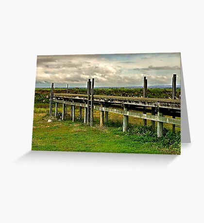 The Tide's Out !! Greeting Card