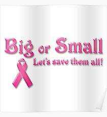 Breast Cancer Awareness- Cancer Shirts Poster