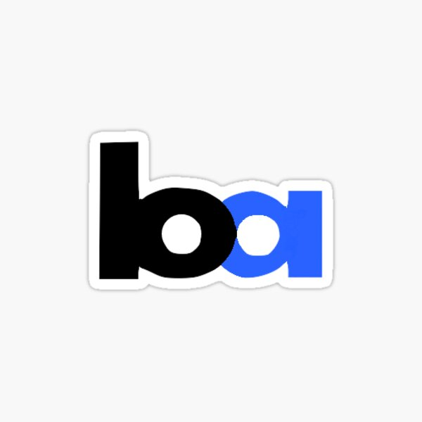 BART Logo Sticker