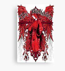 My Religion - Holy Mary Canvas Print