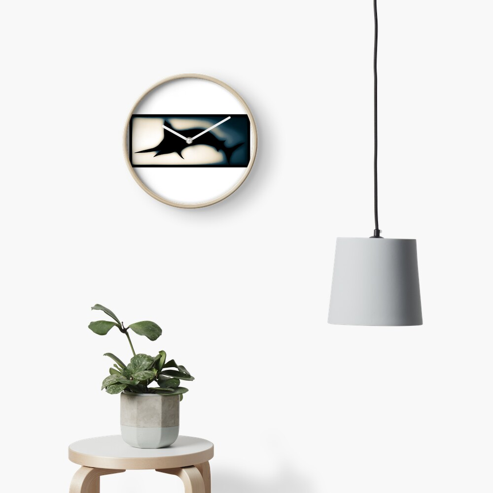 Blue marlin  Clock