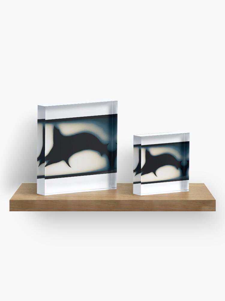 Alternate view of Blue marlin  Acrylic Block