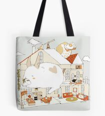 a restful home. Tote Bag