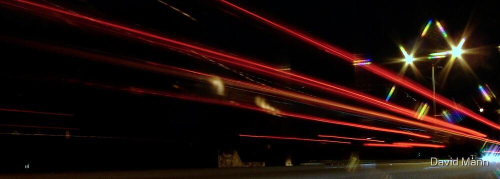 Red Light Streaks 1 by David Mann
