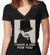 James Delaney I HAVE A USE FOR YOU Women's Fitted V-Neck T-Shirt