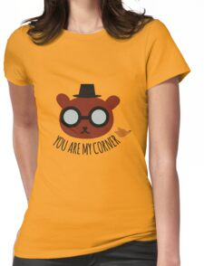 You are my corner - Night in the woods Womens Fitted T-Shirt