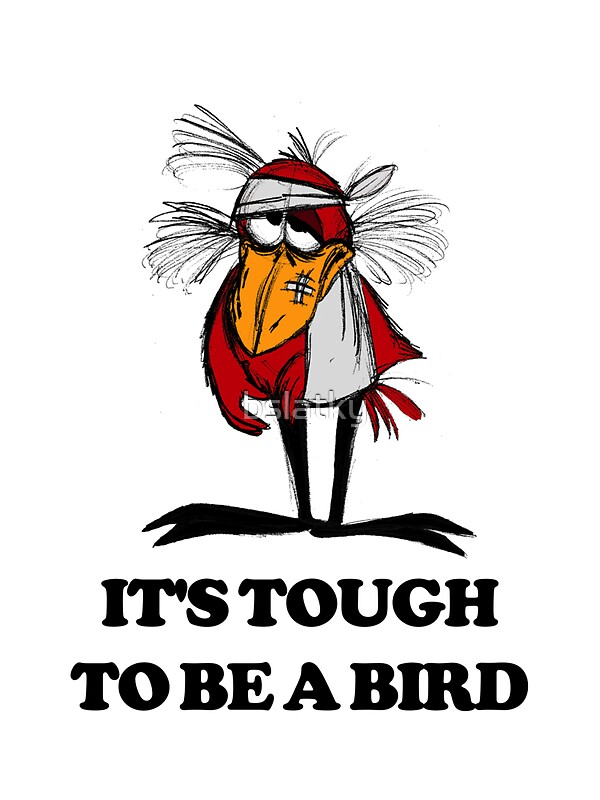 """Its Tough To Be Famous 1932 Alfred E Green Douglas: """"It's Tough To Be A Bird"""" Stickers By Bslatky"""