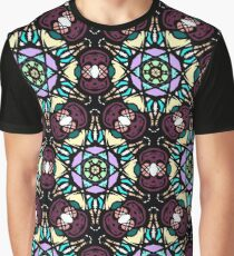 Stain Glass pattern Graphic T-Shirt