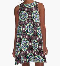 Stain Glass pattern A-Line Dress