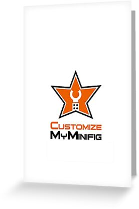 Customize My Minifig Star Logo Design by Customize My Minifig