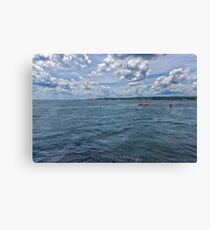 Entering Gloucester Harbor Canvas Print