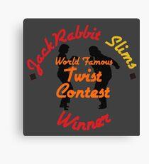 JackRabbit Slims Twist Contest Winner - Iphone / Ipod / Print / Shirt Canvas Print