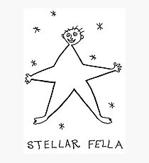 Stellar Fella Photographic Print