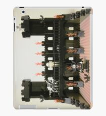 Horror Castle with Vampire, Skeleton and Ghost Minifigs iPad Case/Skin
