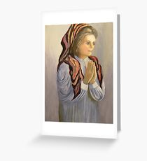 childs prayer Greeting Card