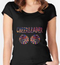 cheerleader Women's Fitted Scoop T-Shirt