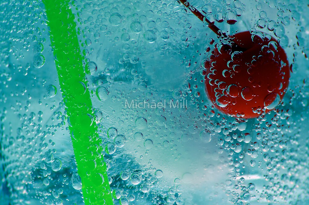 Ice Cold Drink by Michael Mill