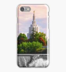 Idaho Falls - Art At The Greenbelt iPhone Case/Skin