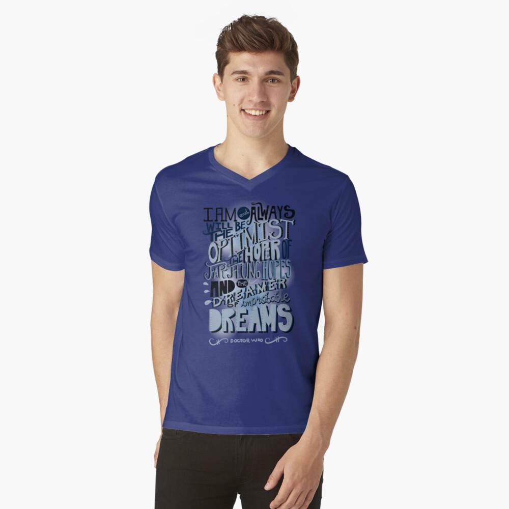 Dreamer of Improbable Dream V-Neck T-Shirt