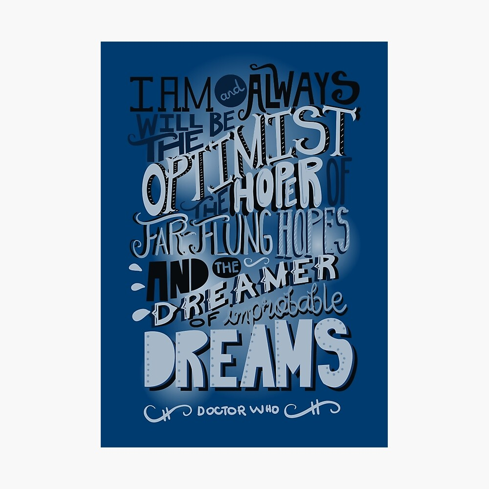 Dreamer of Improbable Dream Photographic Print