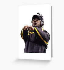 Mike Tomlin Greeting Card