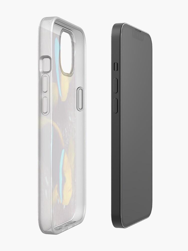 Alternate view of Grumpy couple II iPhone Case