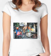 Street Food Hanoi Women's Fitted Scoop T-Shirt