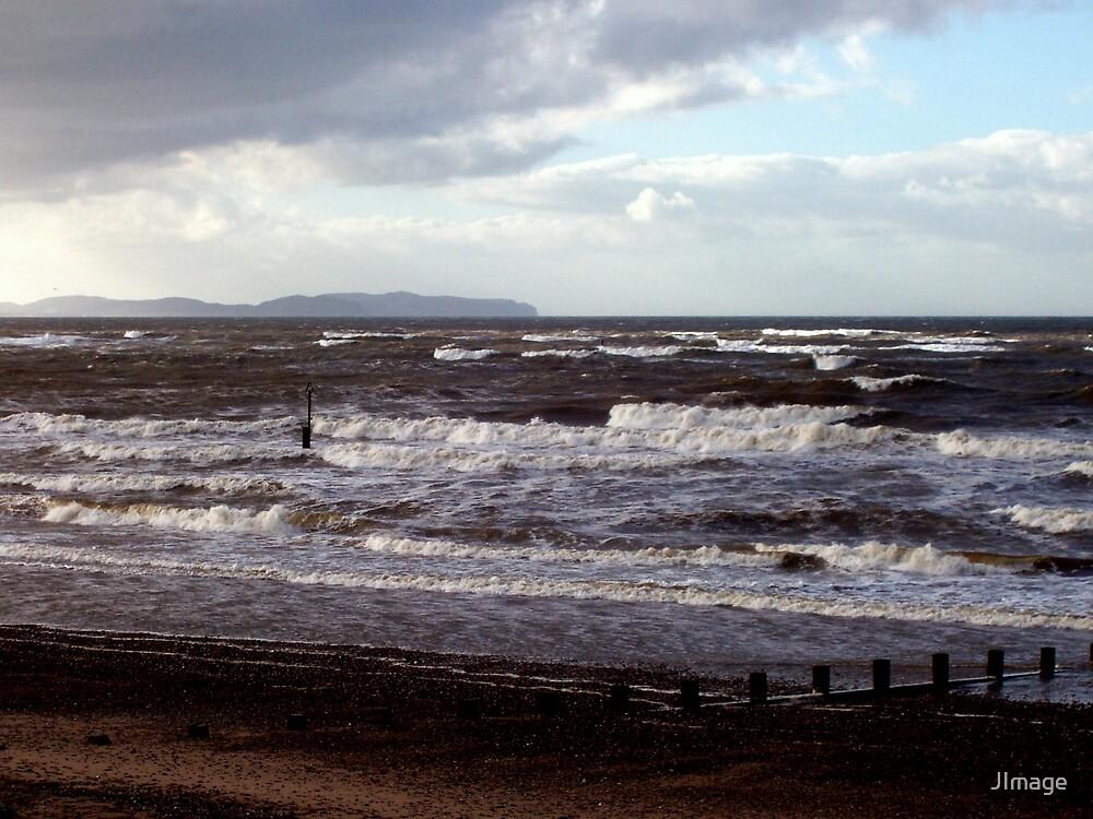 Rhyl Sea by JImage
